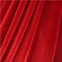 *3 YD PC--Red Stretch Velvet