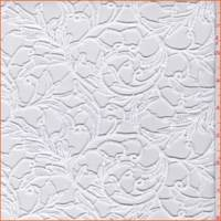 White Baroque Scroll Crochet Lace
