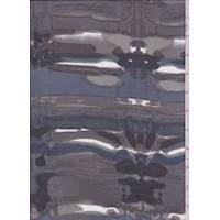 Charcoal/Ink Brushstroke Silk Chiffon