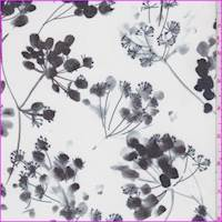 Porcelain Modern Floral Silk Chiffon