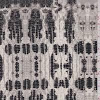 *1 1/8 YD PC--Sterling Snakeskin Silk Crepe de Chine