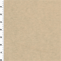 *2 YD PC--Golden Beige Wool Rib Knit