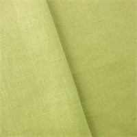 *1 3/4 YD PC--Lime Green Linen Canvas Home Decorating Fabric