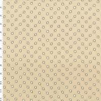 Beige/Taupe Embroidered Eyelet Linen Home Decorating Fabric