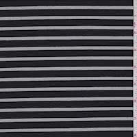 Black Stripe Burnout Activewear