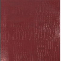 * 1 1/2 YD PC--Red Alligator Faux Leather