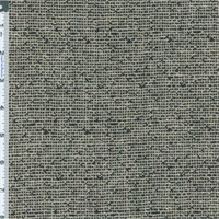 *1 YD PC--Beige/Black Basket Weave Home Decorating Fabric