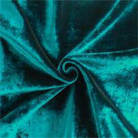 *6 YD PC--Ocean Blue Rayon/Silk Velvet Home Decorating Fabric