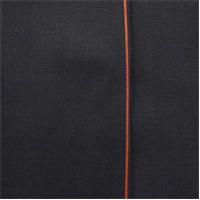 *1 1/8 YD PC--Night Black Cotton Japanese Selvedge Bull Denim