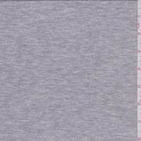 *6 YD PC--Heather Grey Modal Tencel Jersey Knit