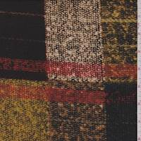 *1 YD PC--Gold Multi Patchwork Knit