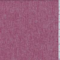 *2 3/8 YD PC--Cherry Red Linen Blend