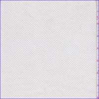 *1 3/4 YD PC--White/Beige Mini Lattice Stretch Twill