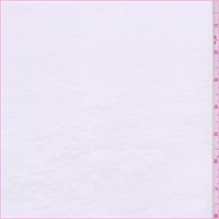 *5 1/2 YD PC--White Cotton T-Shirt Knit