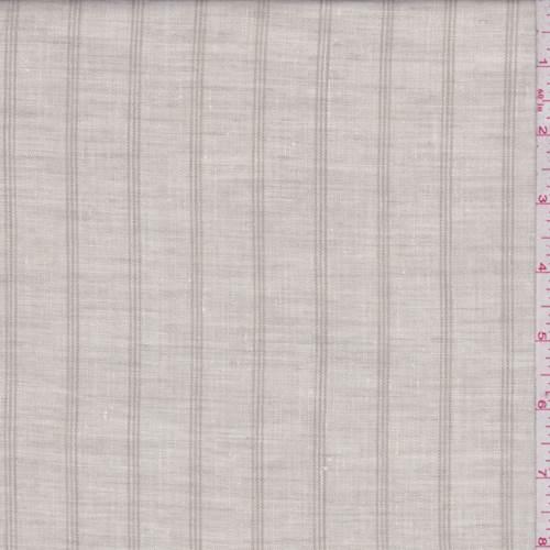 8d3b2c4c55b Ecru/Beige Stripe Linen Blend - 74635 Discount Fabrics