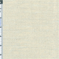 *4 YD PC--Silver White Linen Home Decorating Fabric