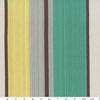 Teal/Gray/Multi Stripe Rib Woven Home Decorating Fabric