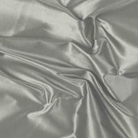 Gray Silk Taffeta