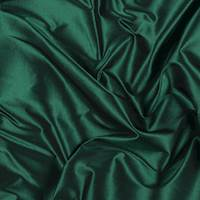 Emerald Green Silk Taffeta
