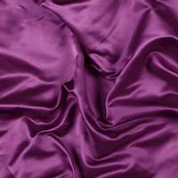 Magenta Silk Duchess Satin