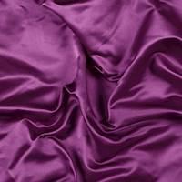 Magenta Silk Duchess Satin