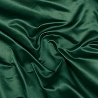 Emerald Green Silk Duchess Satin