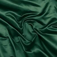 Emerald Green Silk Duchess Satin