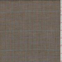 Rustic Brown Multi Plaid Linen
