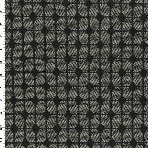 Grey Black Hugo Mushroom Damask Home Decorating Fabric Dfw54756 Fashion Fabrics
