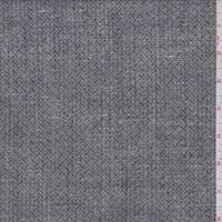 Black Wicker Rayon Blend Suiting