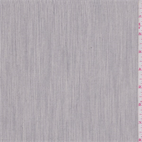 *2 1/2 YD PC--Cream/Grey Pinstripe Stretch Canvas