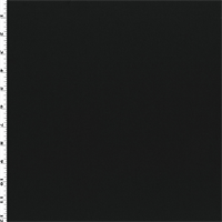 *2 1/2 YD PC--Black Wool Gabardine