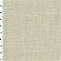 *2 1/2 YD PC--Natural Beige Herringbone Home Decorating Fabric