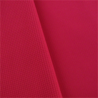 *1 YD PC--Hot Pink Waterproof Stretch Soft Shell Grid Fleece