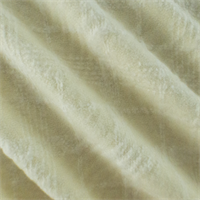 *7/8 YD PC--Ivory Wool Plaid Coating