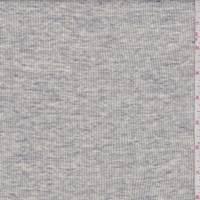 Heather Grey/Cream Rib Knit
