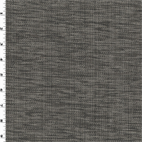 *3 YD PC--Gray Texture Basketweave Home Decorating Fabric