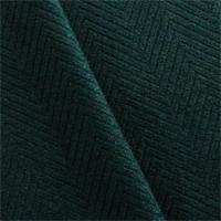 *7 YD PC--Peacock Blue Herringbone Suede Home Decorating Fabric