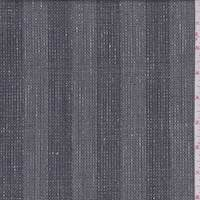 Pewter Grey Stripe Tropical Wool