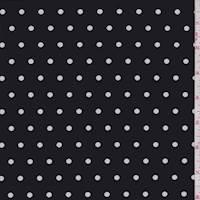 Black/White Polka Dot Swimwear