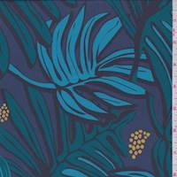 Pewter Blue Tropical Swimwear
