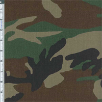 *4 3/8 YD PC--Olive Camo Mix Outerwear