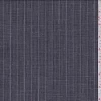 Slate Black Multi Pinstripe Linen