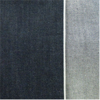 *2 YD PC--Deep Indigo Cotton Slub Japanese Selvedge Denim