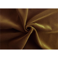 *1 YD PC--Brown Velveteen Home Decorating Fabric
