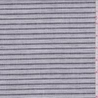 Grey/Black/White Stripe Shirting
