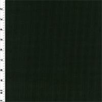 *1 YD PC--Black Ribbed Wool