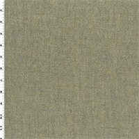 *1 YD PC--Spring Green Wool Twill Tweed