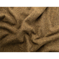 *4 YD PC--Brown Tweed Fleece Double Cloth Coating