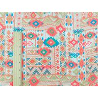 *3 YD PC--Blush/Multi Tribal Print Georgette